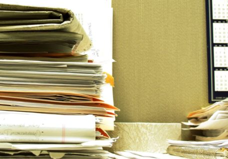 Keeping your paperwork organised