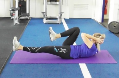 Bicycle Ab Crunch1