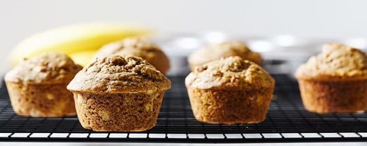 Breakfast Banana Muffins