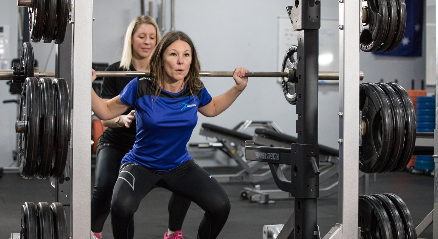 Gym Fitness Barbell Squat