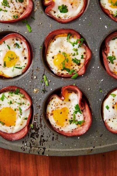 Ham Cheese Egg Cups