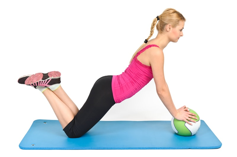 Medicine balls can be used for rehabilitation purposes.